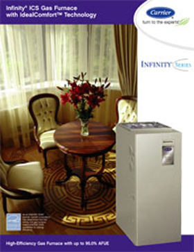 Infinity ICS Gas Furnace